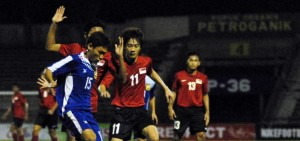 AFF U19: Laos Tame Young Lions to be First Team in Semis