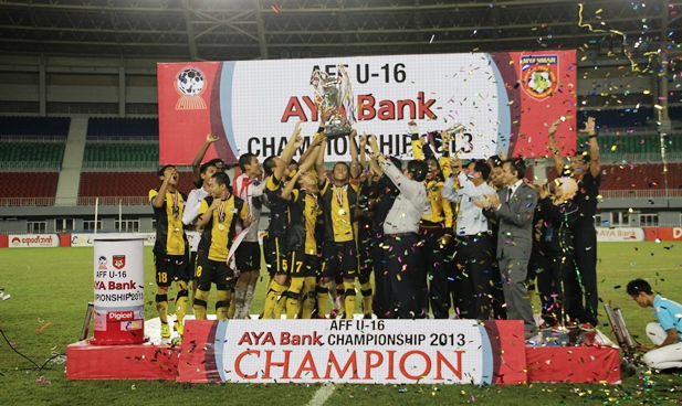 AFF U16 FINAL: Malaysia Lift First-Ever Crown
