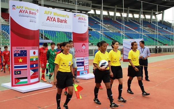 AFF WOMEN'S: Champs Vietnam Held
