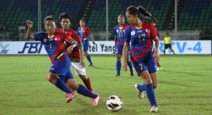 AFF WOMEN'S: Gallant Fight from Indonesia