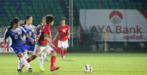 AFF WOMEN'S: Souchitta Double Saves Laos the Blushes
