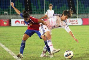 AFF WOMEN'S: Second-half Fight Back for Japan