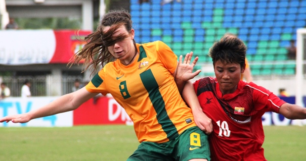 AFF WOMEN'S: OZ Deliver Special Goal for Place in Final