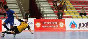 AFF FUTSAL: Brave Brunei Fall to Thais