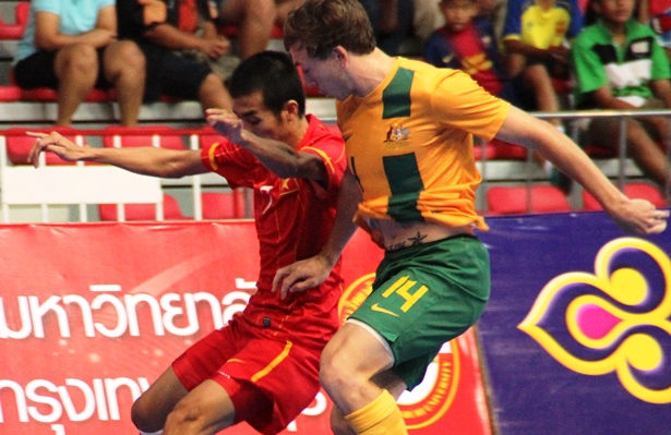 AFF FUTSAL: OZ Destroy Vietnam to Set up Final Clash against Thais