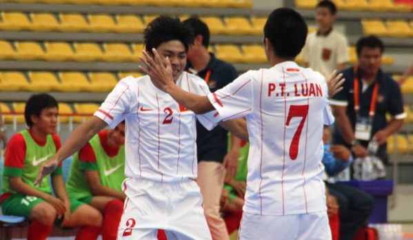 AFF FUTSAL: Vietnam Take Third Spot