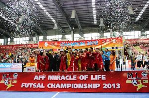AFF FUTSAL: Suphawut Double Gives Thailand Ninth Crown