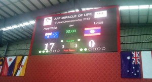 AFF FUTSAL: Big Win for Australia and Indonesia in Group B