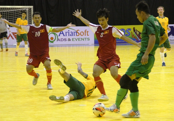 AFF FUTSAL: Late goals see Thailand, Australia into the final