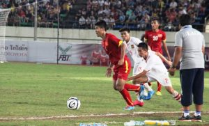 AFF U19: Duc Chinh hattrick leads Vietnam into final with Thais