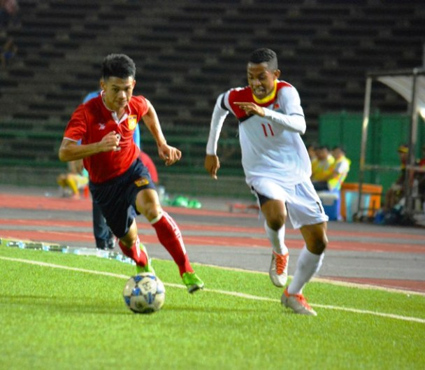 Indonesia U18 Vs Laos