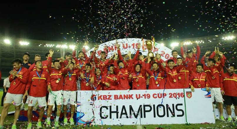 Vietnam win KBZ Bank U19 Cup crown
