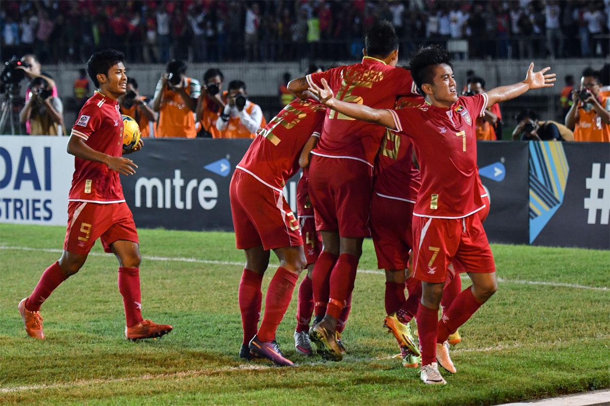 2016 AFF Suzuki Cup Group B - Myanmar vs Malaysia
