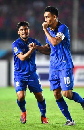 ASC: Two-goal Teerasil raises Thai dreams