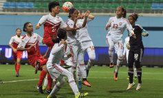 Singapore women's hold UAE