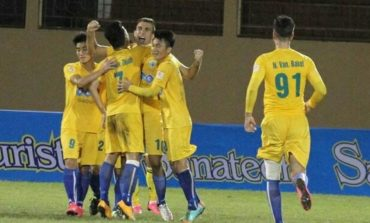 Thanh Hoa top V.League after two games