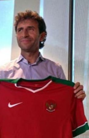 Luis Milla, the new coach of Indonesia
