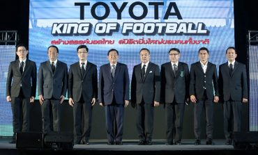 TOYOTA continue to sponsor Thai football