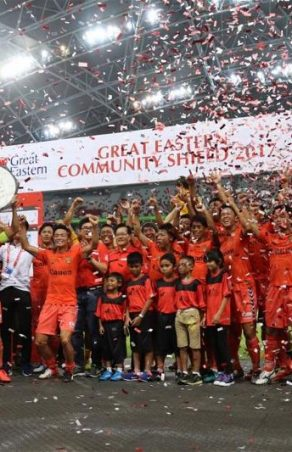 Albirex lifts 2017 Great Eastern Community Shield