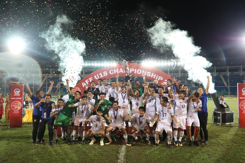 U18: Thais win crown in a three-minute blitz