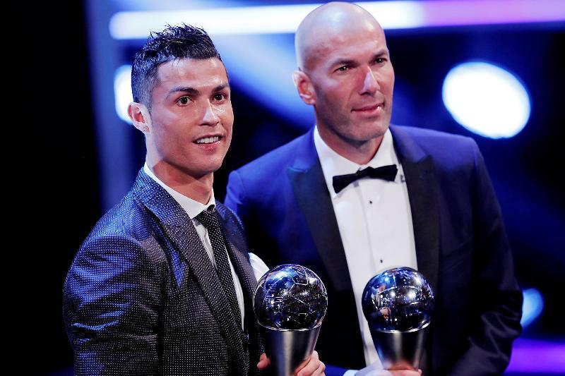 Ronaldo eyes more success as Real dominate awards