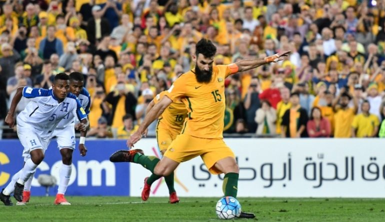 Jedinak leads Australia to FIFA World Cup 2018