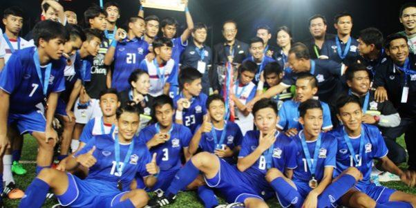 Timnas Thailand U-16 juara Piala AFF U-16 2015