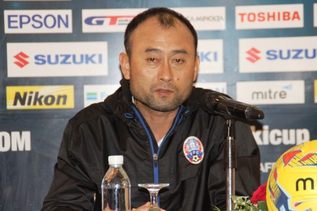 2016 AFF Suzuki Cup - Head Coach of Cambodia - Lee Tae Hoon