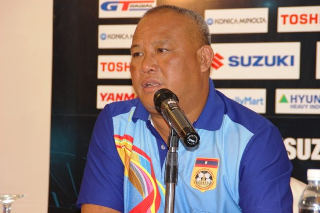 2016 AFF Suzuki Cup - Head Coach of Laos - Veensuavanh Sivisay