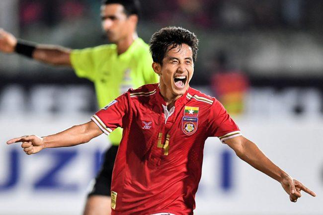 2016 AFF Suzuki Cup Group B - Myanmar vs Malaysia-David Htan