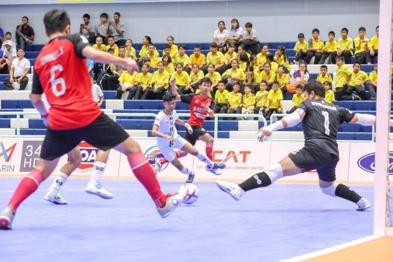 5th 6th Black Steel vs Melaka United