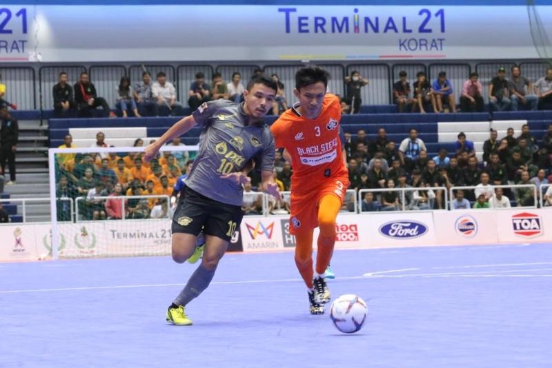 Black Steel vs PTT Chonburi Bluewave